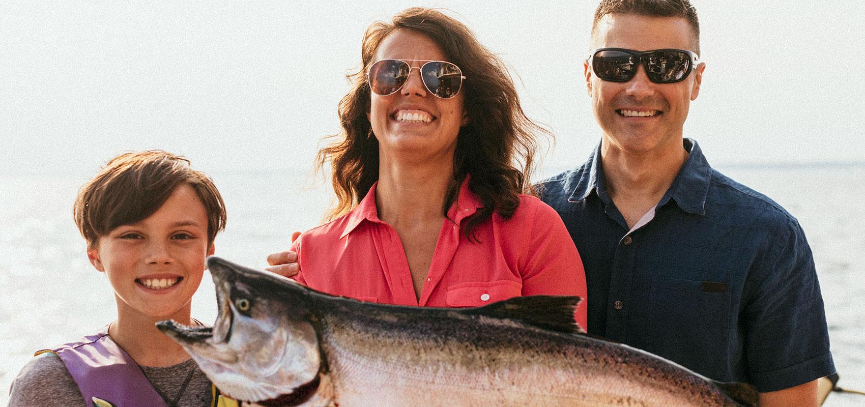 Chinook Salmon, Oswego NY